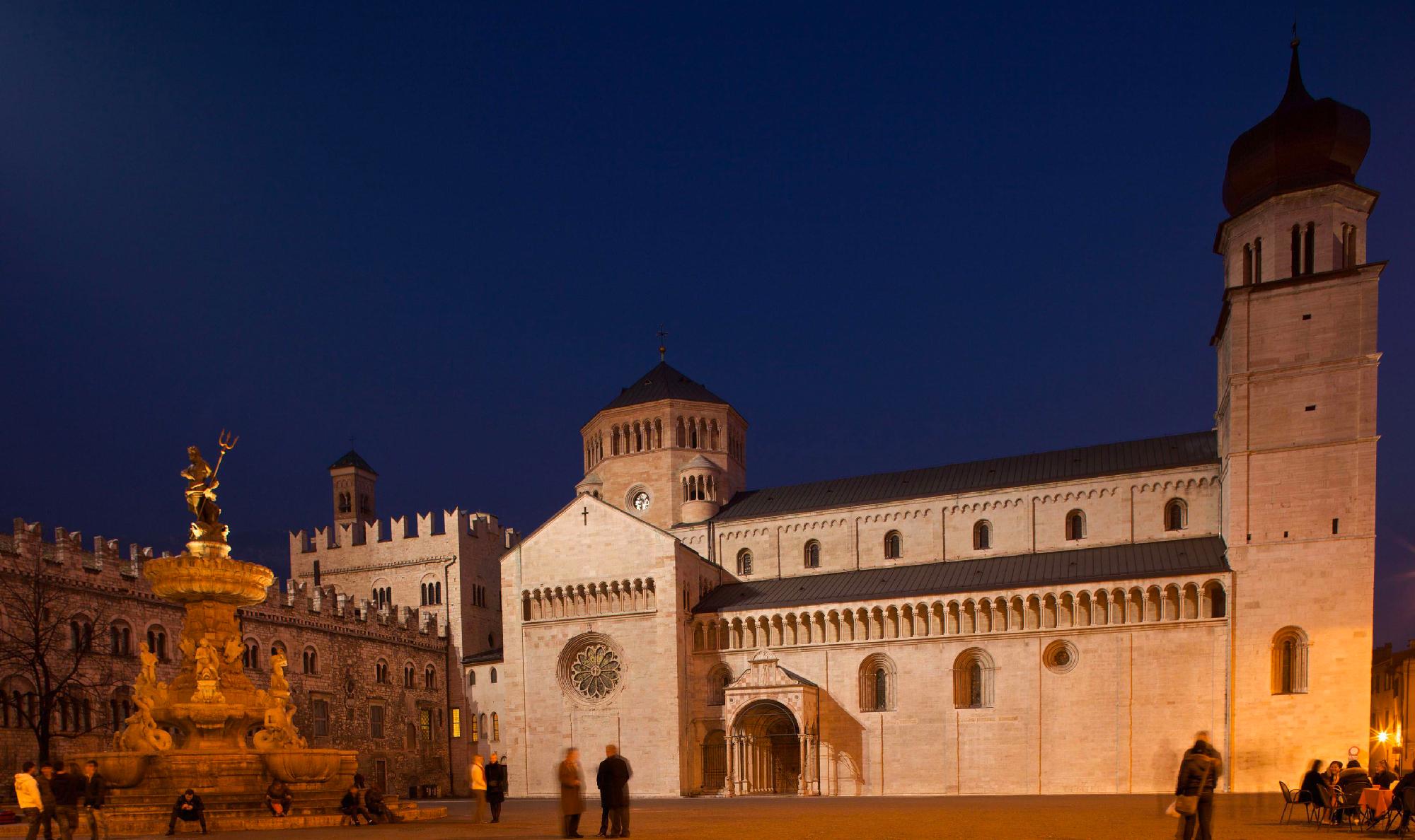 Notturna in città a Trento