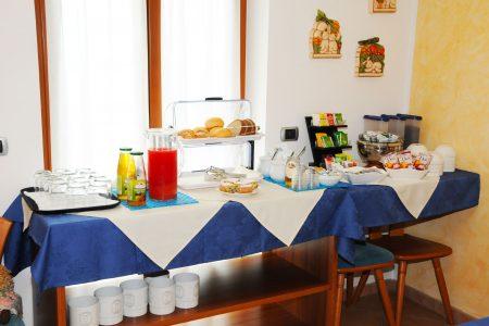Il Buffet dolce e salato a colazione