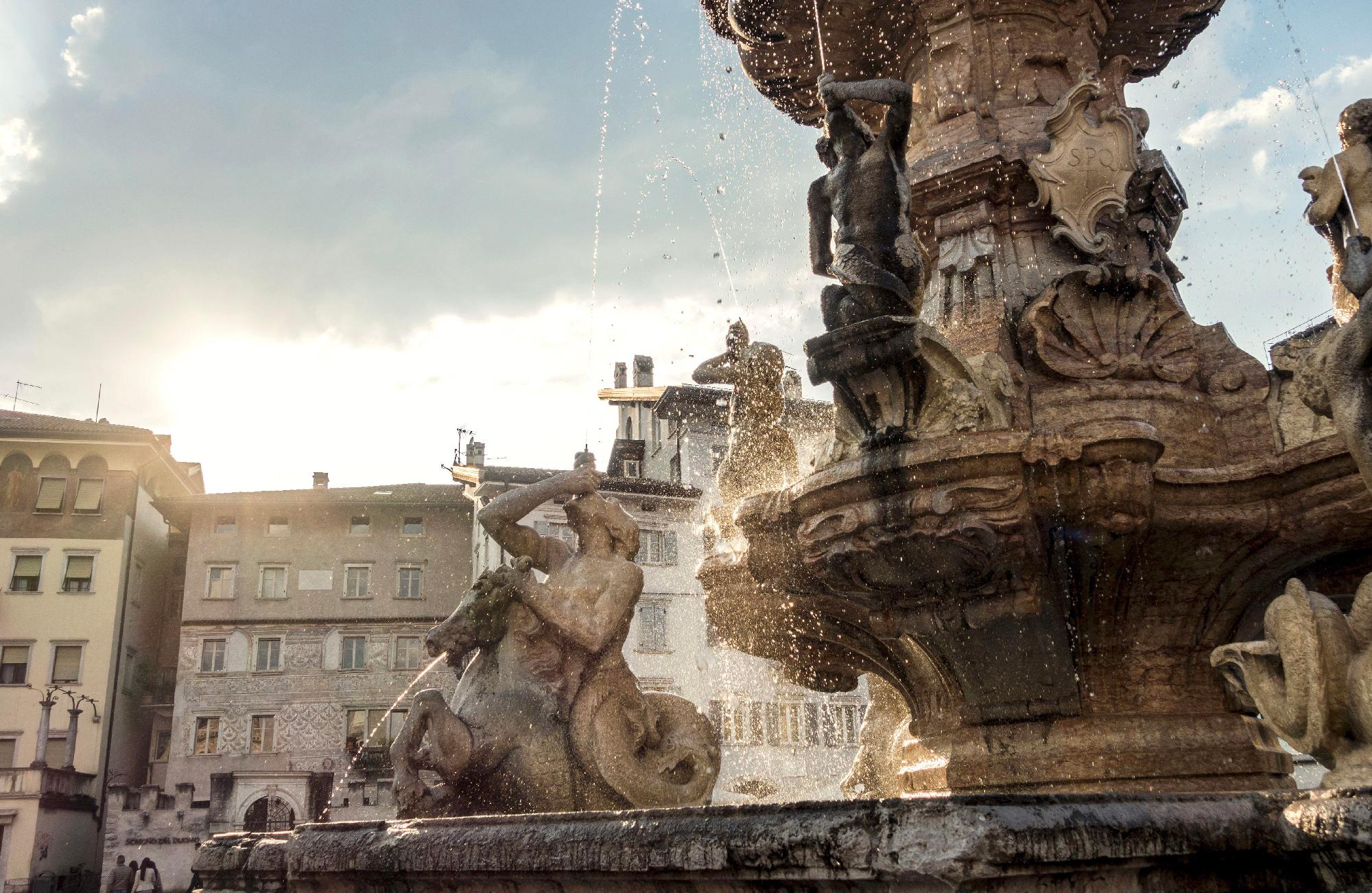 Fontana del Nettuno a Trento