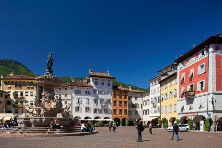 Piazza a Trento centro