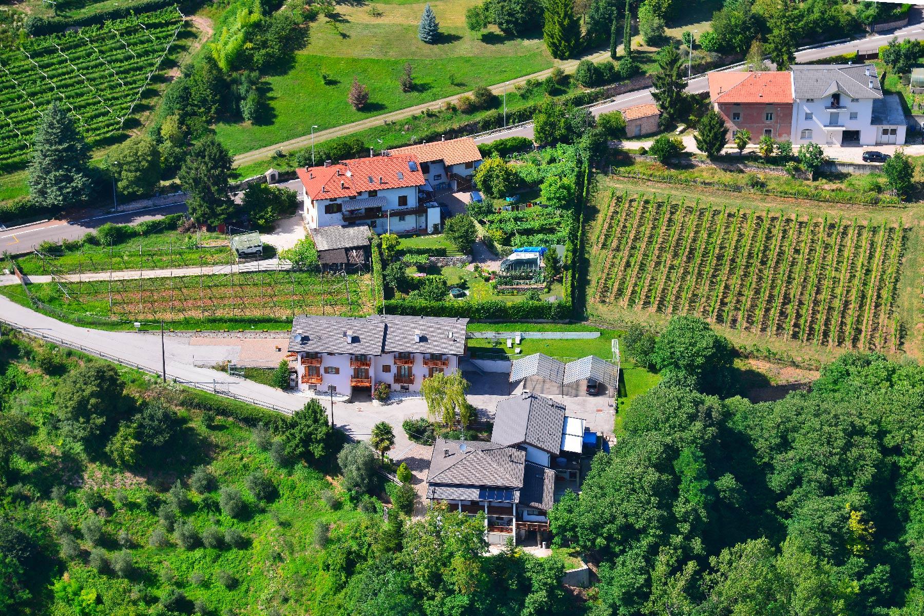 Vista aerea del Nostro Agritur